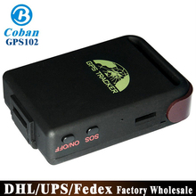 DHL/Fedex 10PCS Real Time Tracking SOS Services SMS/GPRS GSM Tracking GPS102 GPS Trackers(China)