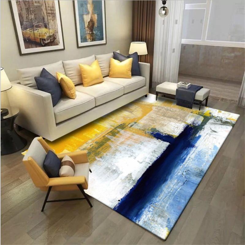 Aovoll Christmas Rug Carpets For Living Room Simple Modern