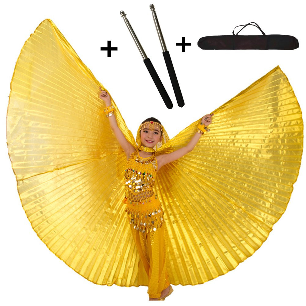 Chilren belly dance wings dancing isis wings belly dance accessories costume