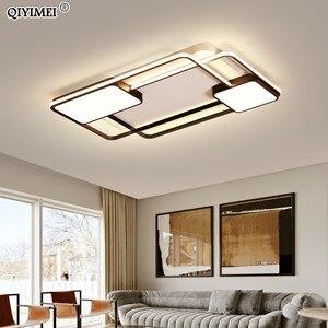 Image 2 - Novo design conduziu a luz de teto para sala estar jantar quarto luminarias parágrafo teto luzes led para casa luminária moderna