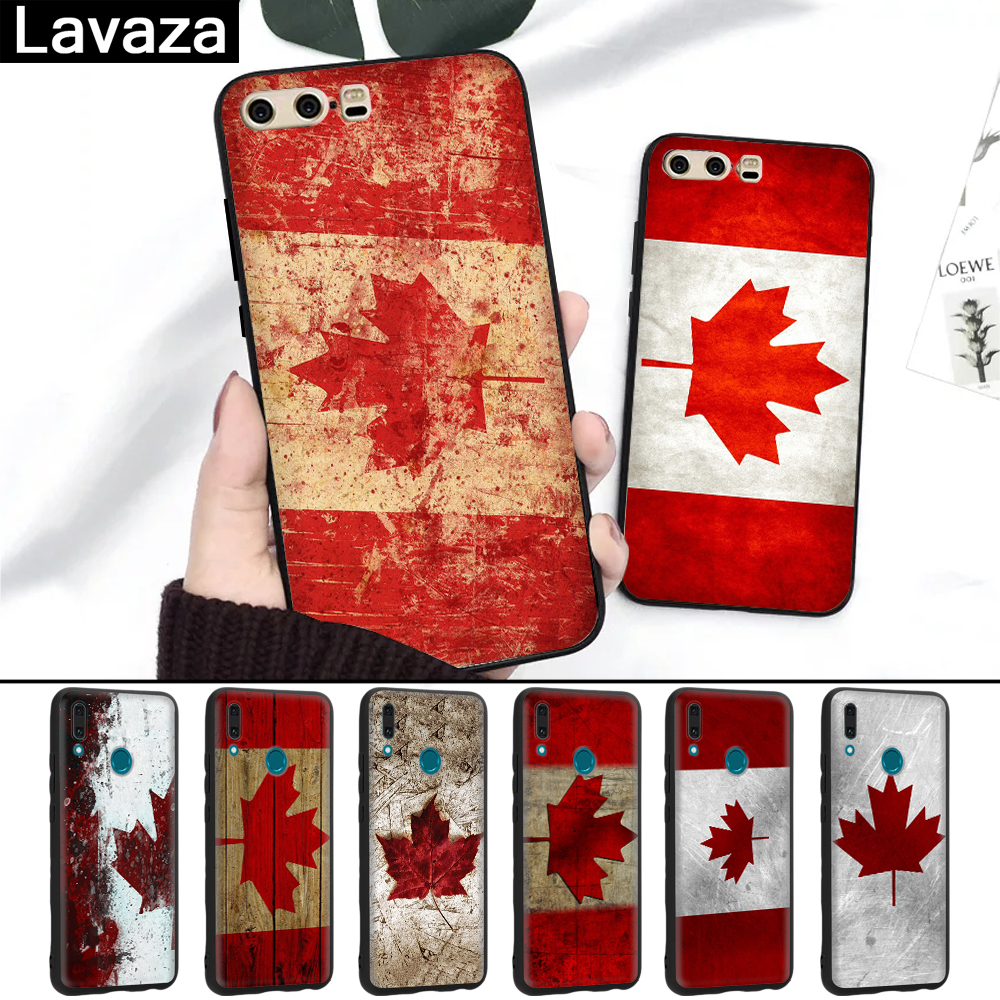 Analytical Lavaza Canada Flag Maple Leafs Novelty Fundas Silicone Case For Huawei P8 Lite 2015 2017 P9 2016 Mini P10 P20 Pro P Smart 2019 Non-Ironing Phone Bags & Cases