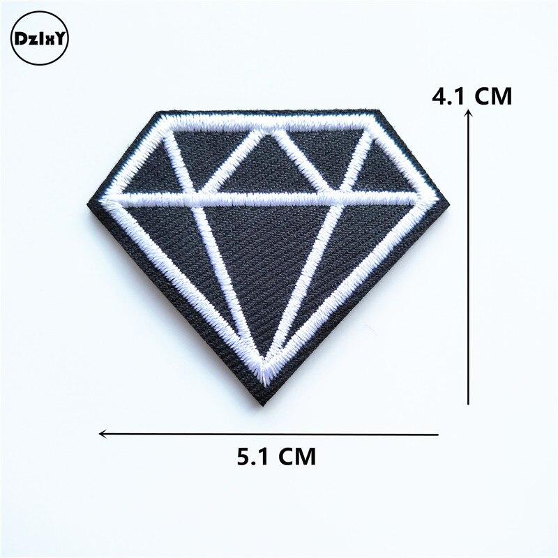 ᐃ1 piezas diamantes Vintage ropa de hierro bordado en parches para ...
