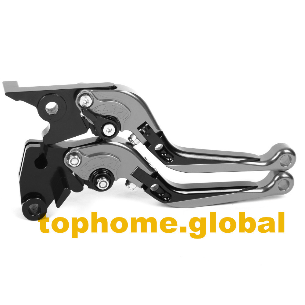 Motorbike Accessories Foldable&Extendable Brake Clutch Levers For Triumph Tiger 800/XC 2011-2014 2012 2013 orange motorbike foldable