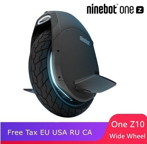 Ninebot One Z10 Z6 plus haute spécification une roue monocycle auto équilibrage scooter électrique monoroue brouette hoverboard skate