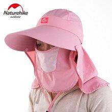 b4676f4439d Outdoor Quick Drying Round Sun Helmet Breathable Mesh Mask Bonnie Hats  Folding Cap Sunbonnet 98%