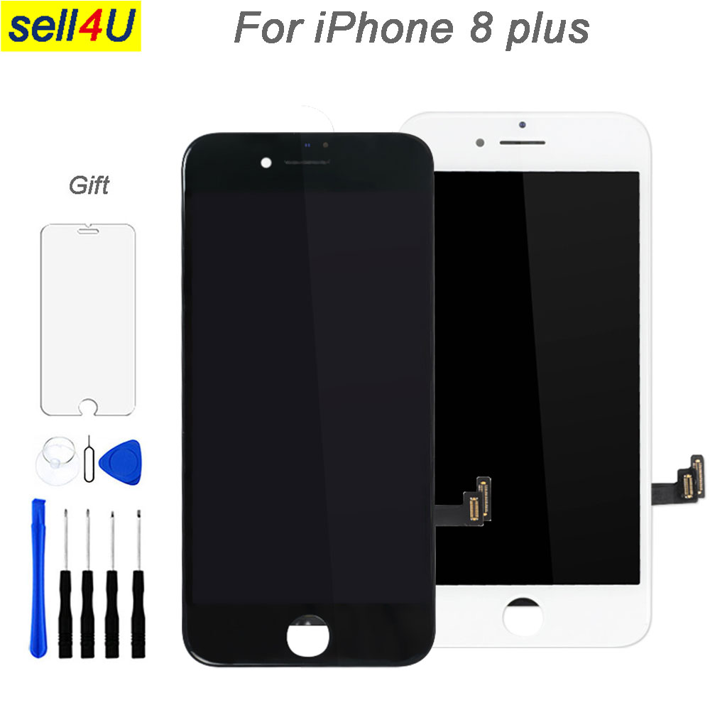 For iPhone 8 plus LCD screen , LCD display with 3D Touch Digitizer screenl assembly fo iphone 8 plus replacement parts iPhone 8