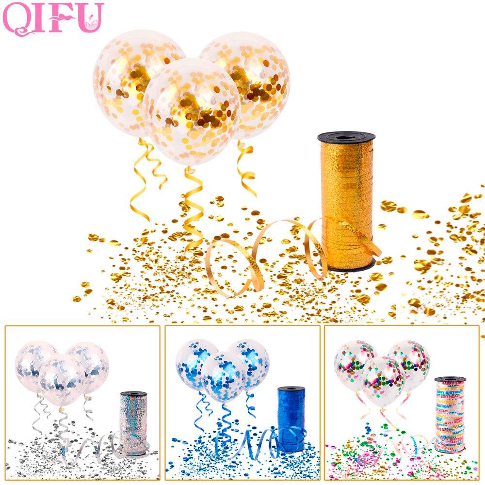 QIFU 10 ชิ้น Rose G Old C Onfetti - วันหยุดและปาร์ตี้