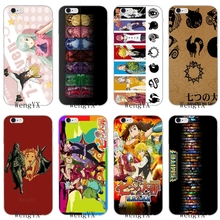 be1e94f312839d WengYX Nanatsu no Taizai For iPhone 4 4s 5 5s 5c SE 6 6s plus 7 7plus 8  8plus X