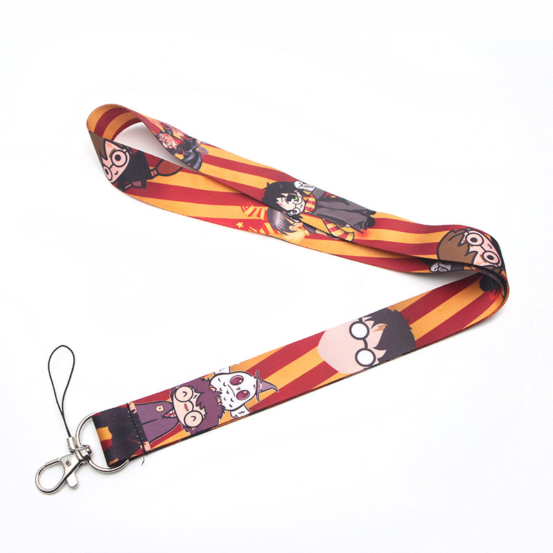 Cartoon kawaii style Multi function Mobile Phone Strap Tags Neck Lanyards for keys ID Lanyard Badge Neck Straps webbing E0512 in Ribbons from Home Garden