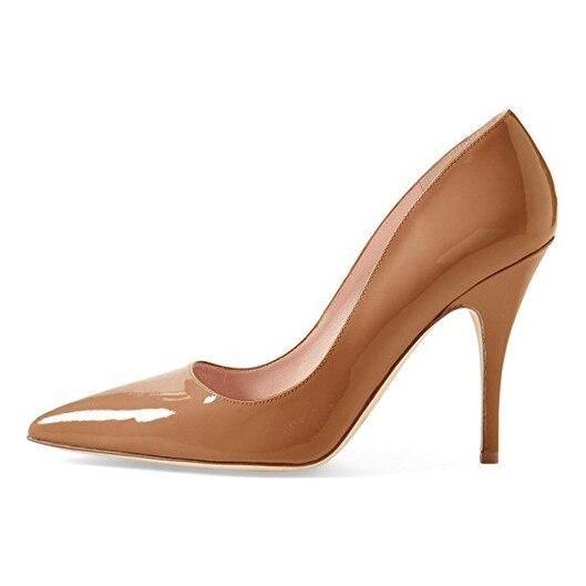 Tacón Partido Estrecha uu Las De Del Zapatos Tamaño 5 15 Punta Señoras Ee 4 Baile Bombas Colores Nuevas Yifsion Sexy Brillantes Mujeres Más Stiletto xw1Yq8S7