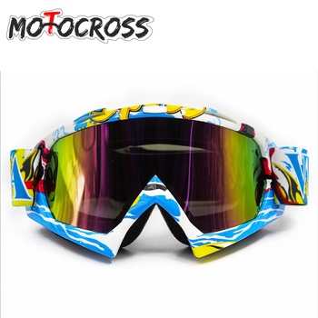 спортивный велосипедный шлем   Новый мотокросс очки Óculos Велоспорт MX Off Road шлем лыжный спорт Gafas для мотоцикла Байк Гонки очки