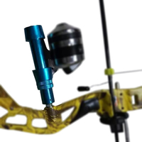 Blue Bow Fishing Fish Hunting Heavy Duty Aluminum Anchor Reel Seat Set