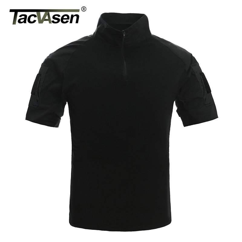 Image 4 - TACVASEN Men Camouflage Tactical T Shirts Summer Short Sleeve Airsoft Army Combat T shirts Hunt Shoot Top Tees Military Clothingcamouflage t shirttactical t shirtbrand t shirt men -