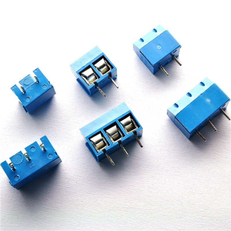 100 PCS/LOT KF301-3P KF301-2P 3Pin 2Pin 5.08mm Straight Pin PCB Screw Terminal Block Connectors 300V 12A 5mm Pitch High qualit sayoon dc 12v contactor czwt150a contactor with switching phase small volume large load capacity long service life