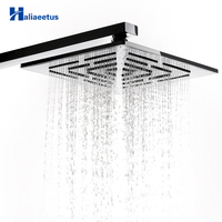 8 Inch (20 CM) Stainless Steel Square Rain Shower Head 248 Holes Water Out Rainfall Showerhead. (Not Including Shower Arm)