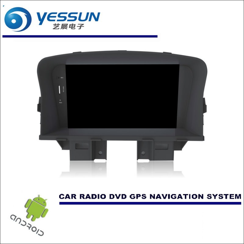 Système de Navigation Android de voiture YESSUN pour Chevrolet Cruze 2008 ~ 2014-lecteur CD DVD stéréo Radio GPS Navi BT HD écran multimédia