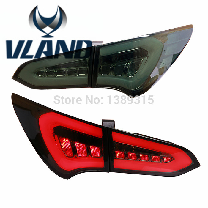 Free Shiping for Vland car Tail Lamp for Hyundai for SANTAFE IX45 LED Taillight Year 2013-2015 free shipping frame for hyundai new santafe car