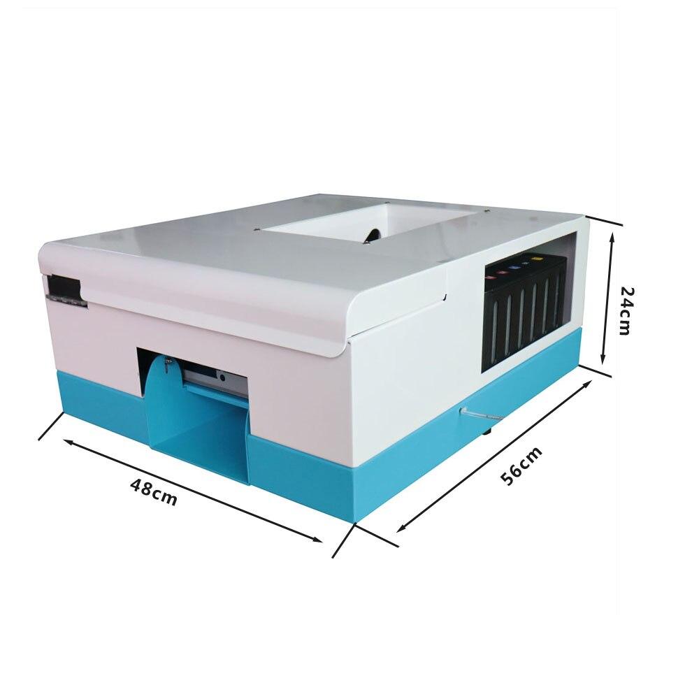 New automatic pvc card printer for 86mm*54mm 70mm*100mm 80mm*110mm 102mm*148mm inkjet PVC Business Card Machine upgrade automatic pvc id card printer for 4 size inkjet card printing machine 86 54 name card printer 70 100 pvc card printer