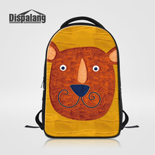Dispalang Новая мода ноутбук рюкзак для подростков пользовательские Дизайн мультфильм ранцы Bookbags для высокого класса Mochilas feminina