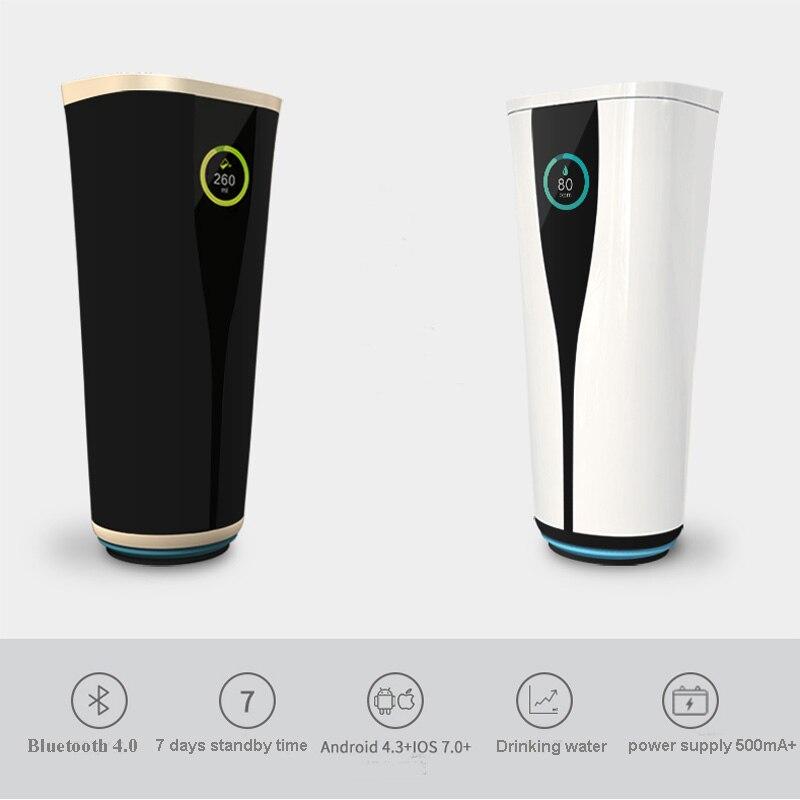 Беспроводная зарядная емкость для воды с теплоизоляцией высокотехнологичный Bluetooth, чтобы напомнить воде многофункциональный музыкальный ... - 3