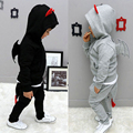 2016 Baby Kids Fashion Cartoon Three-dimensional Bat Clothes Suit Spring Boys Girls Wings Tail Sweater Set