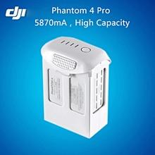DJI Phantom 4 pro de la batería Original, Centro de Vuelo Inteligente de carga de La Batería 5870 mAh, Phantom 4 Pro de la batería de alta Capacidad