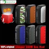 Original Yosta Livepor 160W E Cigarette Box Mod 18650 Battery 160W Max Power VW TC Livepor