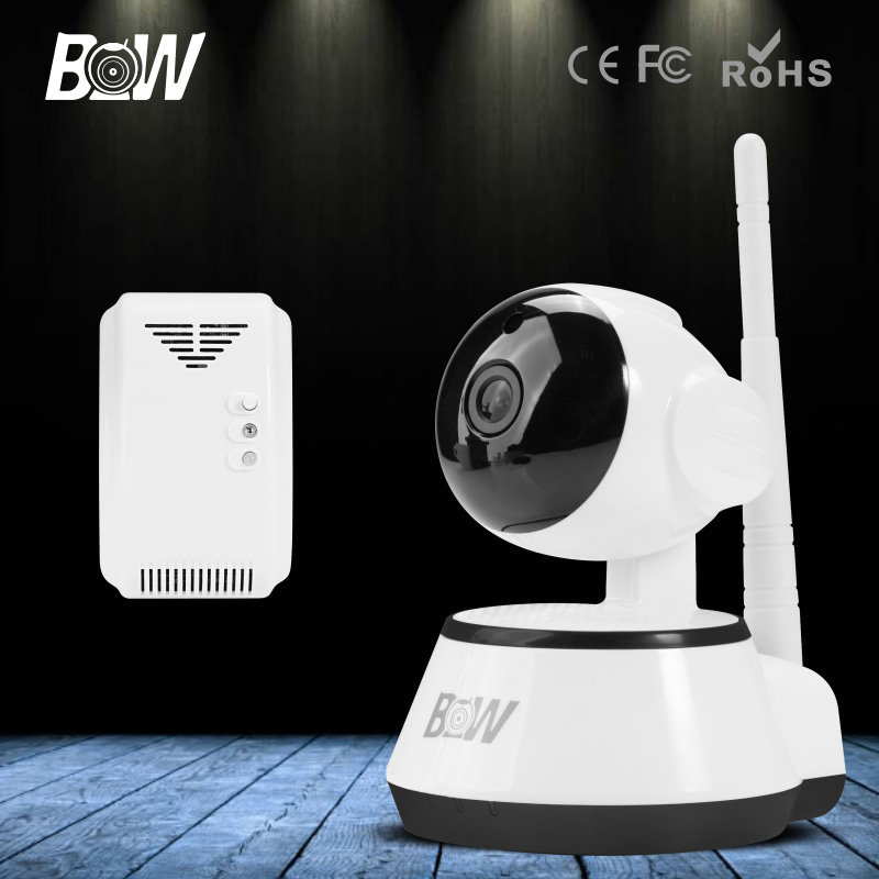 Night Version Camera CCTV Smart Webcam IP Wireless Wifi Camcorder Built-in Microphone Support Two Way Intercom with Gas Detector canon 703 картридж тонер для лазерных принтеров