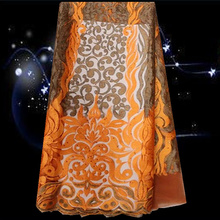 Item No.SNL49,hot sale tulle Nigeriq net lace fabric  for wedding dress free shipping net lace with stones.
