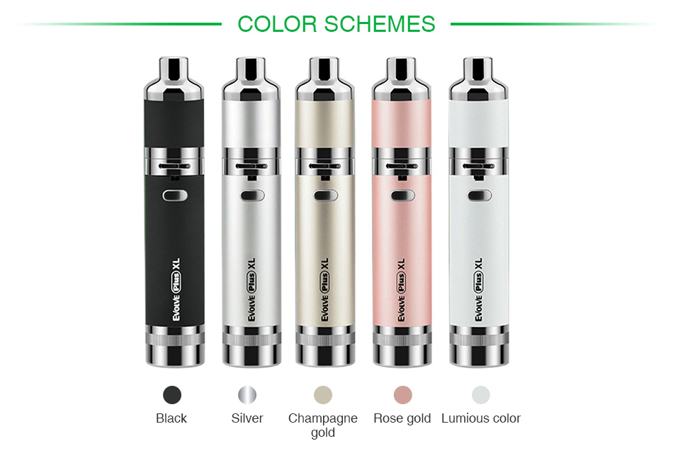 Yocan Evolve Plus XL Wax Vape Pen Kit 1400mAh