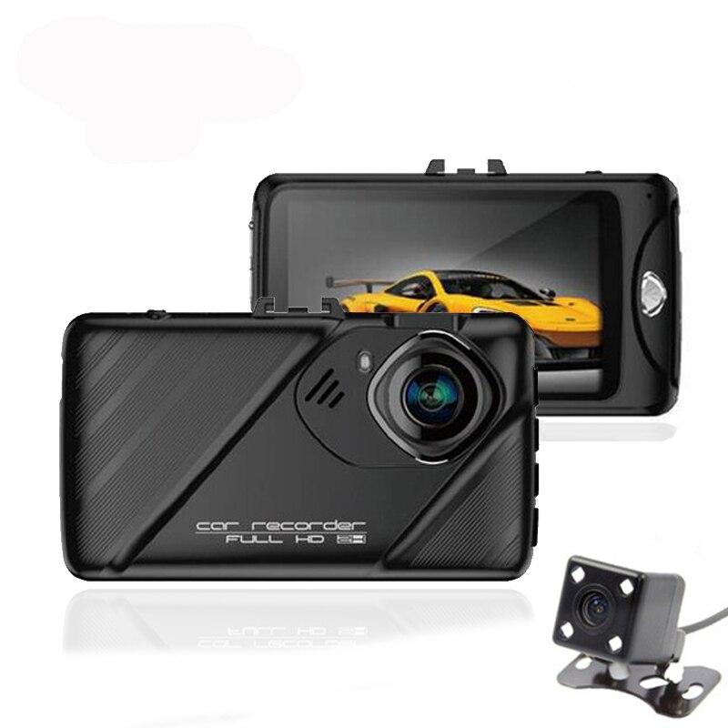 2017 New 3.0 Original Novatek 96658 Full HD 1080P Car DVR 170 Degree angle G-sensor Night version Double Lens Camera