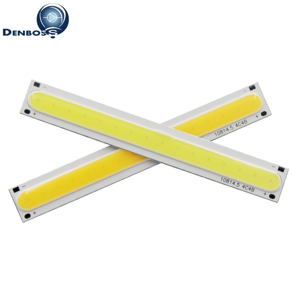 DIY DC 12V Rectangle COB Chip Flip Strip Bar Lamp LED Source Light Moudule
