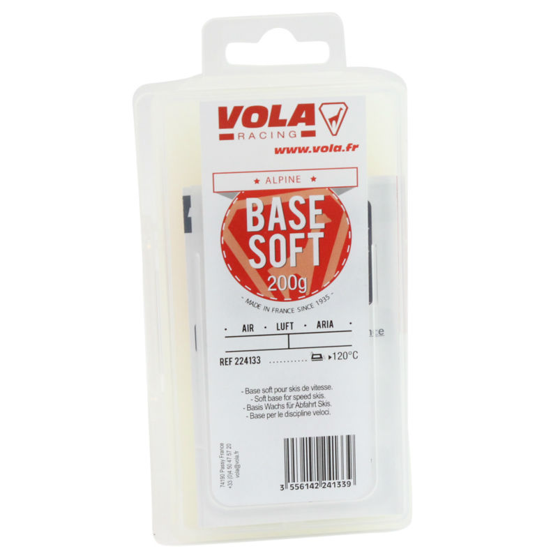 VOLA Base Soft Wax For Speed Ski New Skis For Impregnation 200g