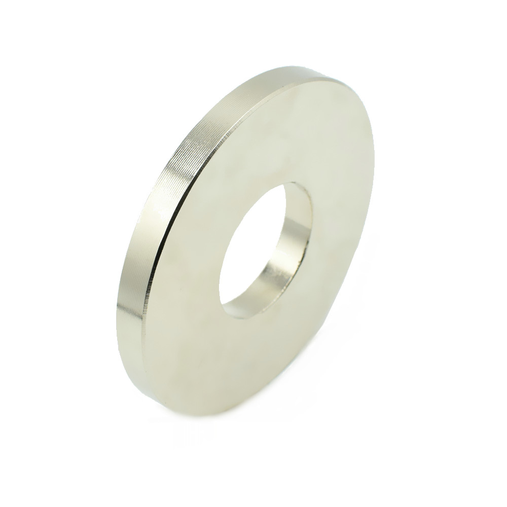 NdFeB N52 Magnet Large Ring OD 100x40x10 mm thick about 4 round Strong Neodymium Permanent Magnets