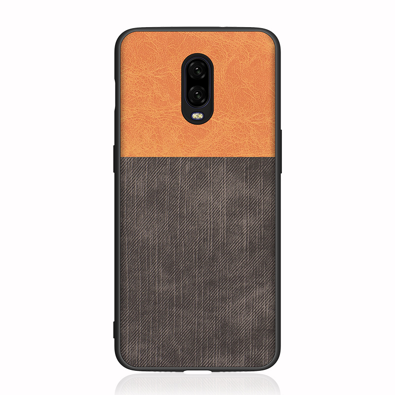Phone Cases For Oneplus 6 6T 5 5T Case Hard Protective Business Style For One Plus 6 5 5T Back Cover Shockproof Coque Capas