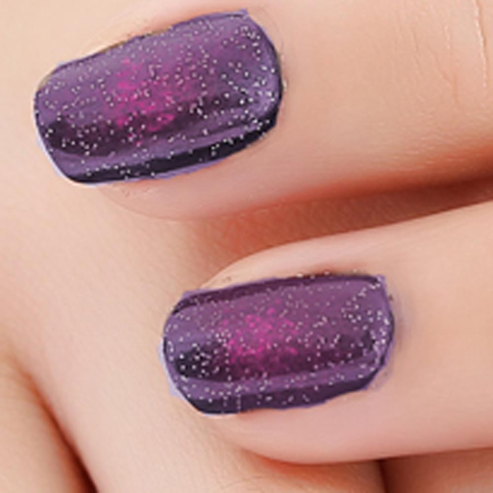 Black starry sky holographic stamping nail polish long lasting quickly dry nail lacquer 8 color stamp