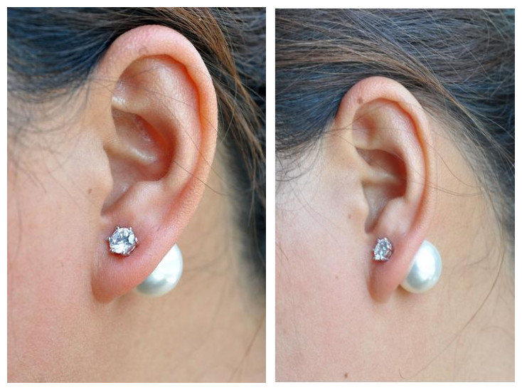 2016 new design fashion shell pearl 925 sterling silver crystal ladies stud earrings jewelry wholesale promotion women in Stud Earrings from Jewelry Accessories