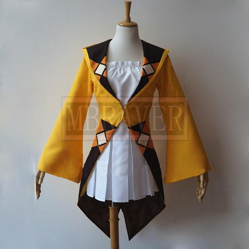 Black Bullet Burakku Buretto Enju Aihara Cosplay Costume