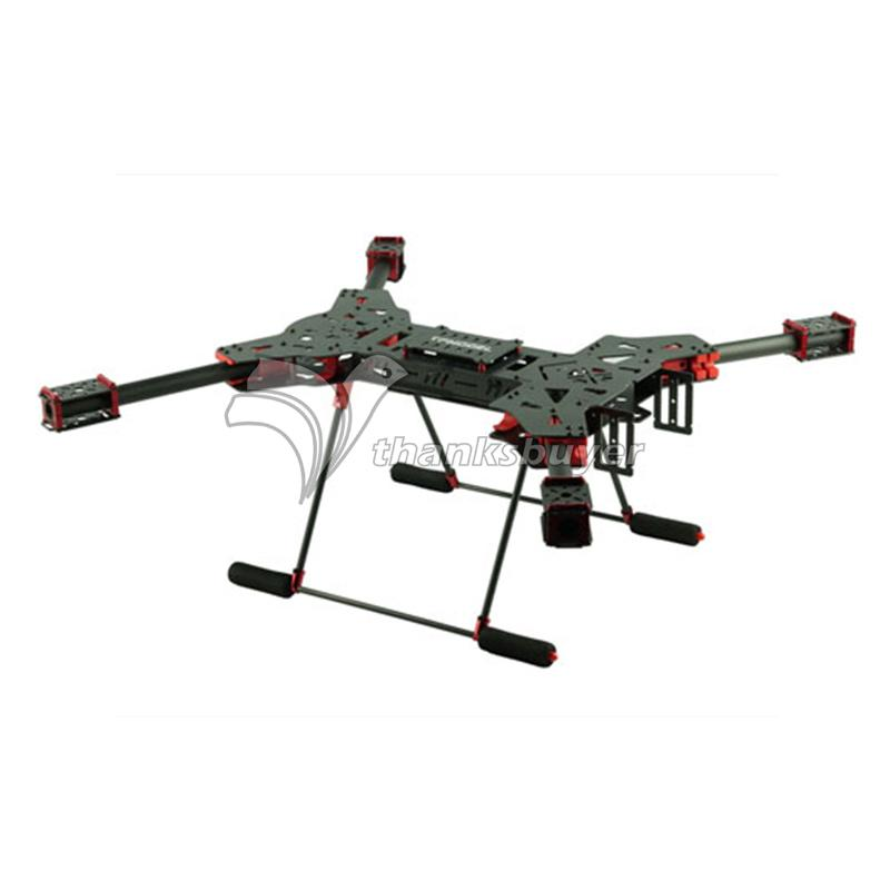 H4 1.6MM Board 680MM Folding Carbon Fiber Quadcopter with