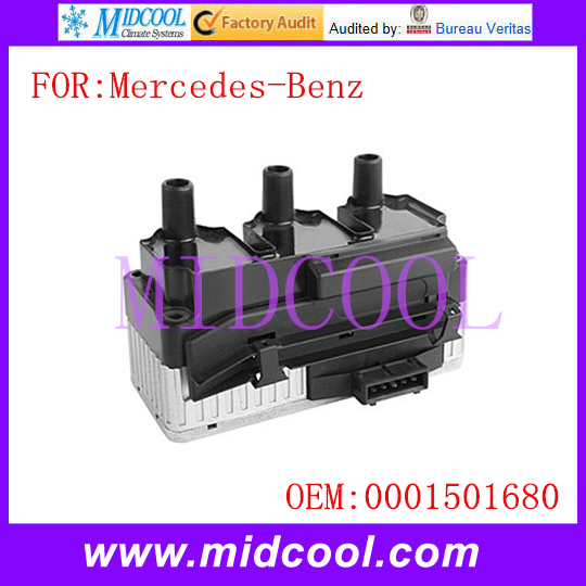 New Ignition Coil use OE NO. 0001501680 for Mercedes-Benz / Mercedes Benz new original high definition screen ed060xc5 ink screen ebook