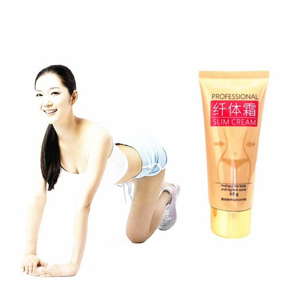 Potent Effect Ginger Lose Weight Body Cream Thin Leg Waist Fat Burning Natural Safety Weight Loss Products Slimming Creams 60g