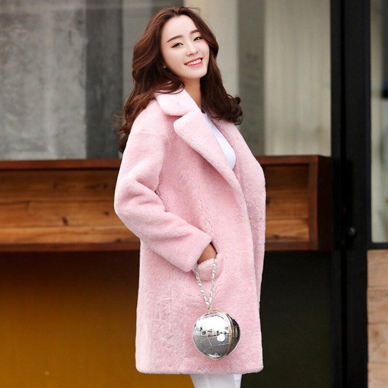 Sheepskin Fur Coat