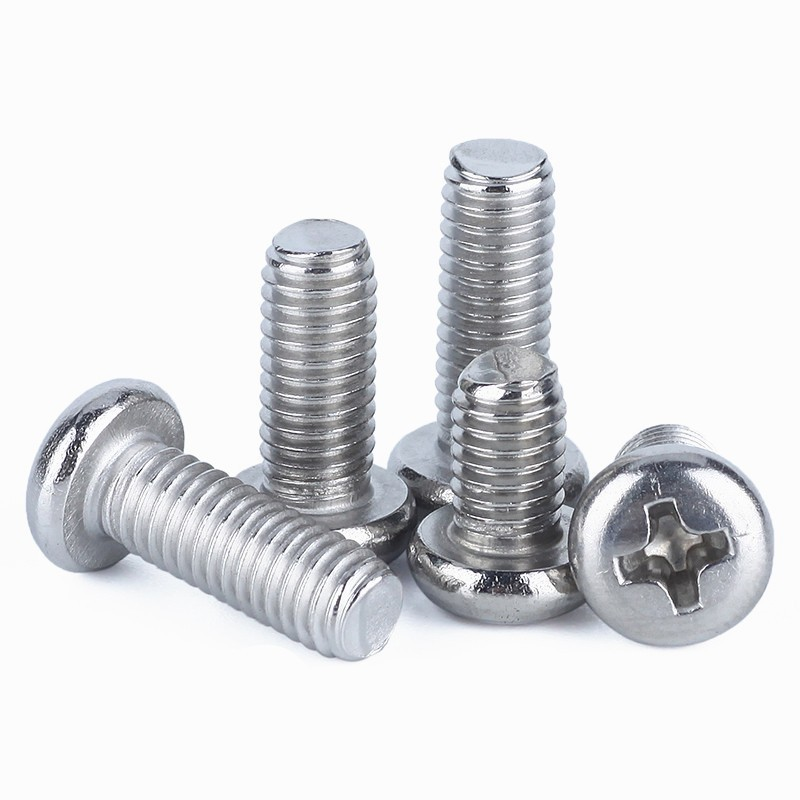 M2 x 6 STAINLESS SLOTTED PAN HEAD MACHINE SCREW 10 PACK FAST FREE SHIPPING