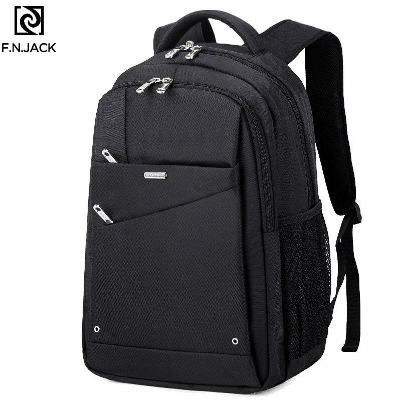 F. N. JACK nouveaux sacs grande capacité en plein air hommes sac à dos mode cartable étudiants voyage décontracté ordinateur sac à dos unisexe