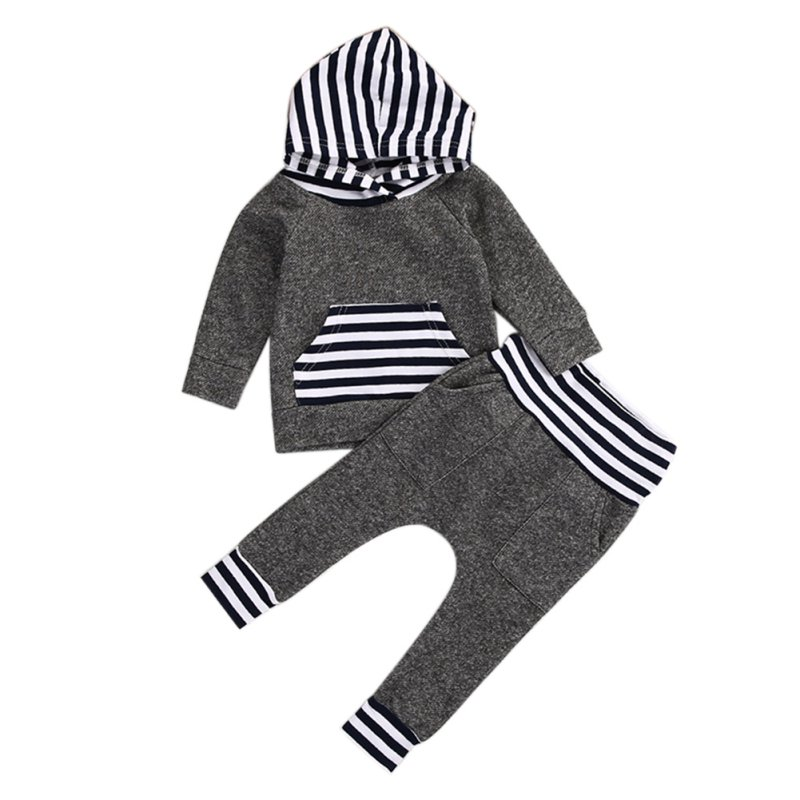 Cute Infant Toddler Newborn Kids Baby 2PCS Girl T-shirt Tops+Long Pants Outfits Set Clothes