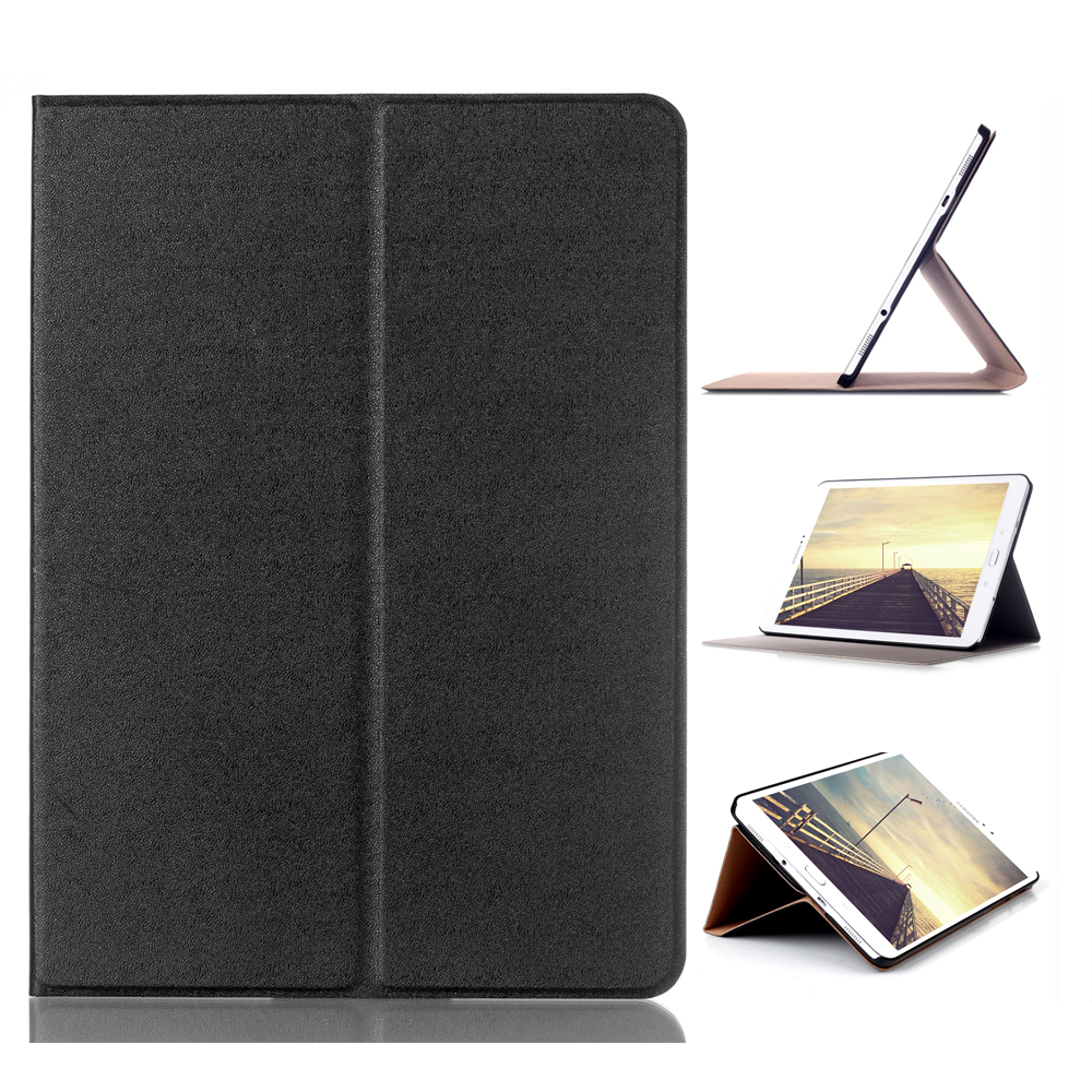 Case for Samsung Galaxy Tab S2 9.7 Folding Flip Smart Cover PU Leather Case for Samsung Galaxy Tab S2 9.7 T810 T813 T815 SM-T819 luxury folding flip smart pu leather case book cover for samsung galaxy tab s 8 4 t700 t705 sleep wake function screen film pen