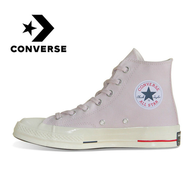 Original Converse  1970s All Star Canvas Shoes Retro Classic for  Men and  Women Unisex Sneakers Skateboarding Shoes