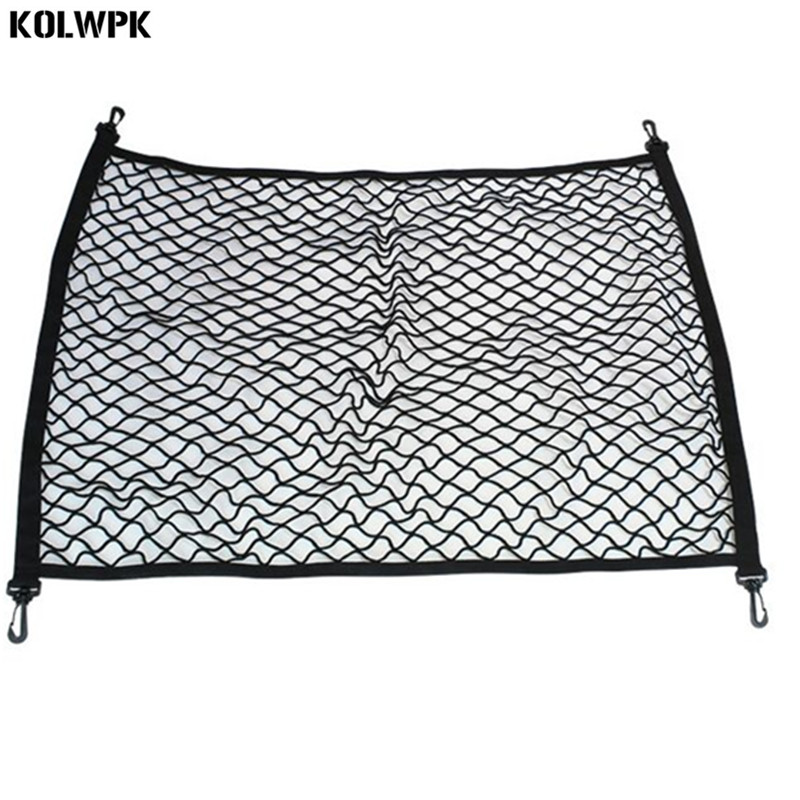 4 HooK Car Trunk Cargo Mesh Net Luggage For Mercedes Benz