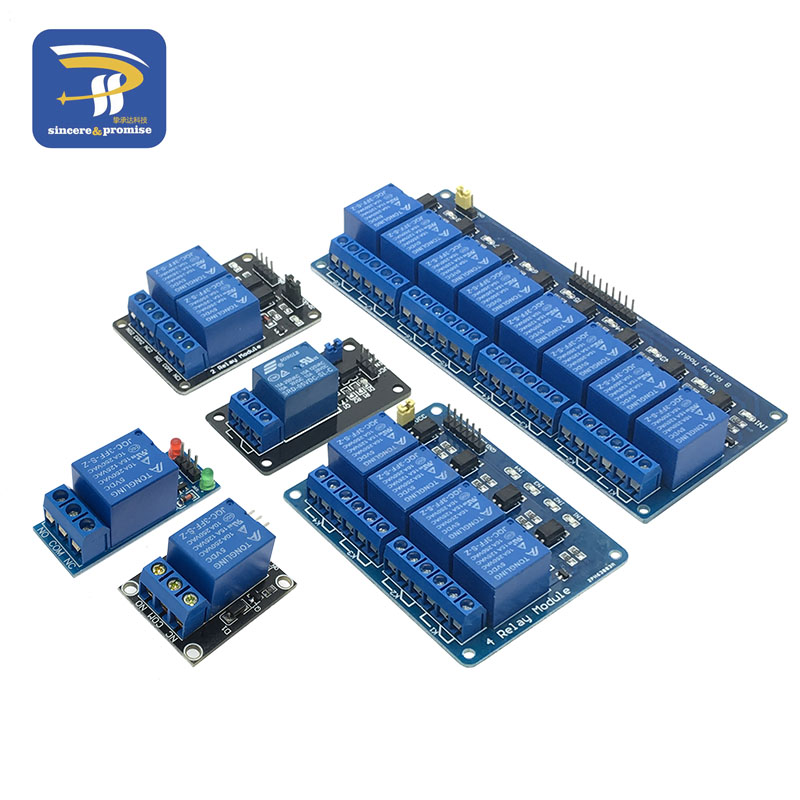 1 2 4 8 Channel DC 5V Relay Module With Optocoupler Low Level Trigger Expansion Board For Arduino Raspberry Pi