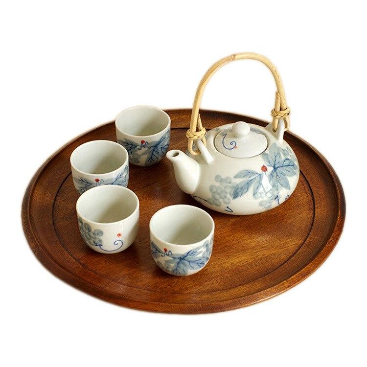 Céramique exquise théière en céramique bouilloires thé tasse porcelaine chinois Kung Fu thé ensemble Drinkware thé cérémonie ensemble - 5